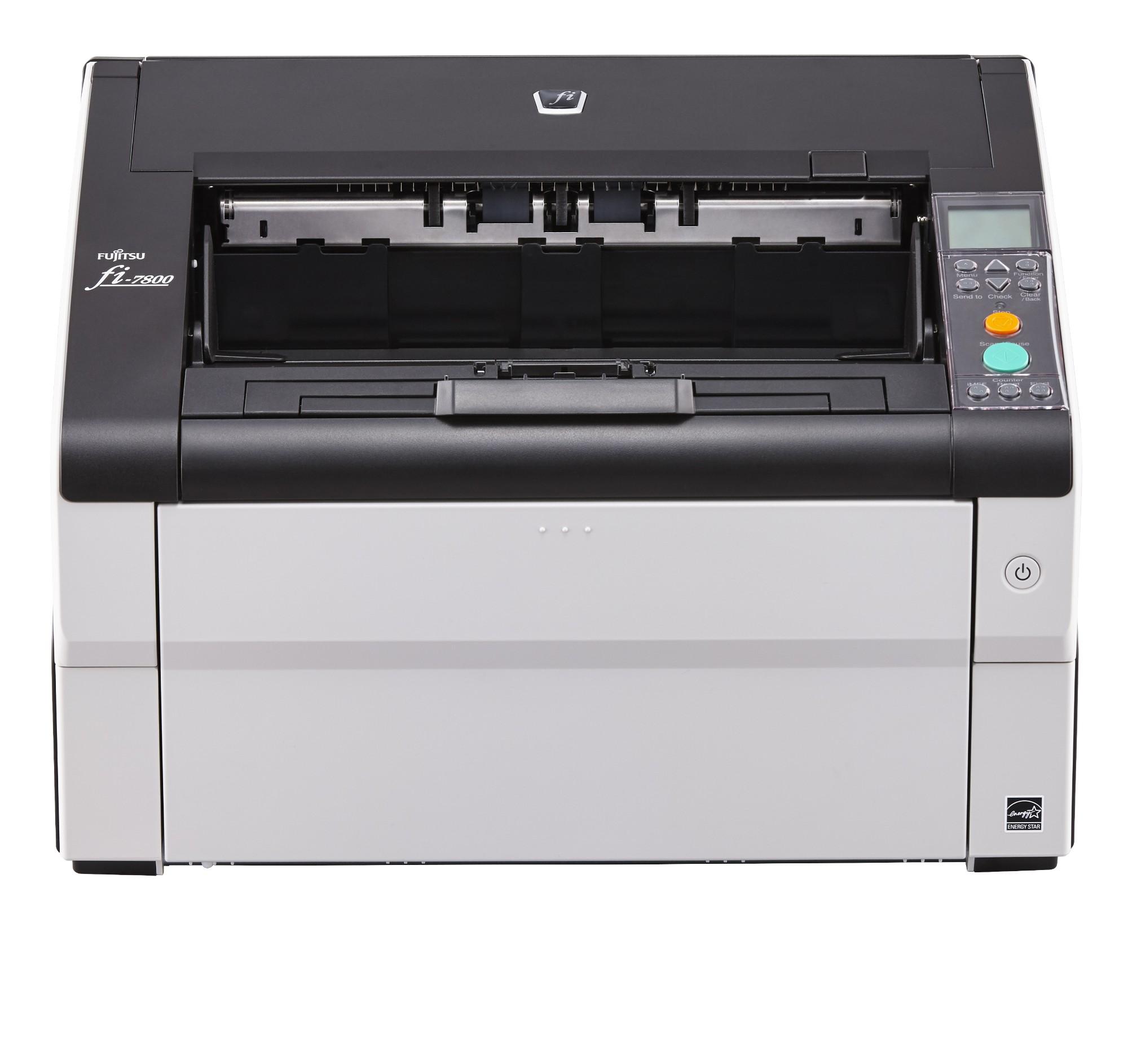 Fujitsu fi-7800 ADF + Manual feed scanner 600 x 600 DPI A3 Black, Grey
