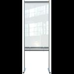Nobo 1915558 magnetic board Grey, Transparent