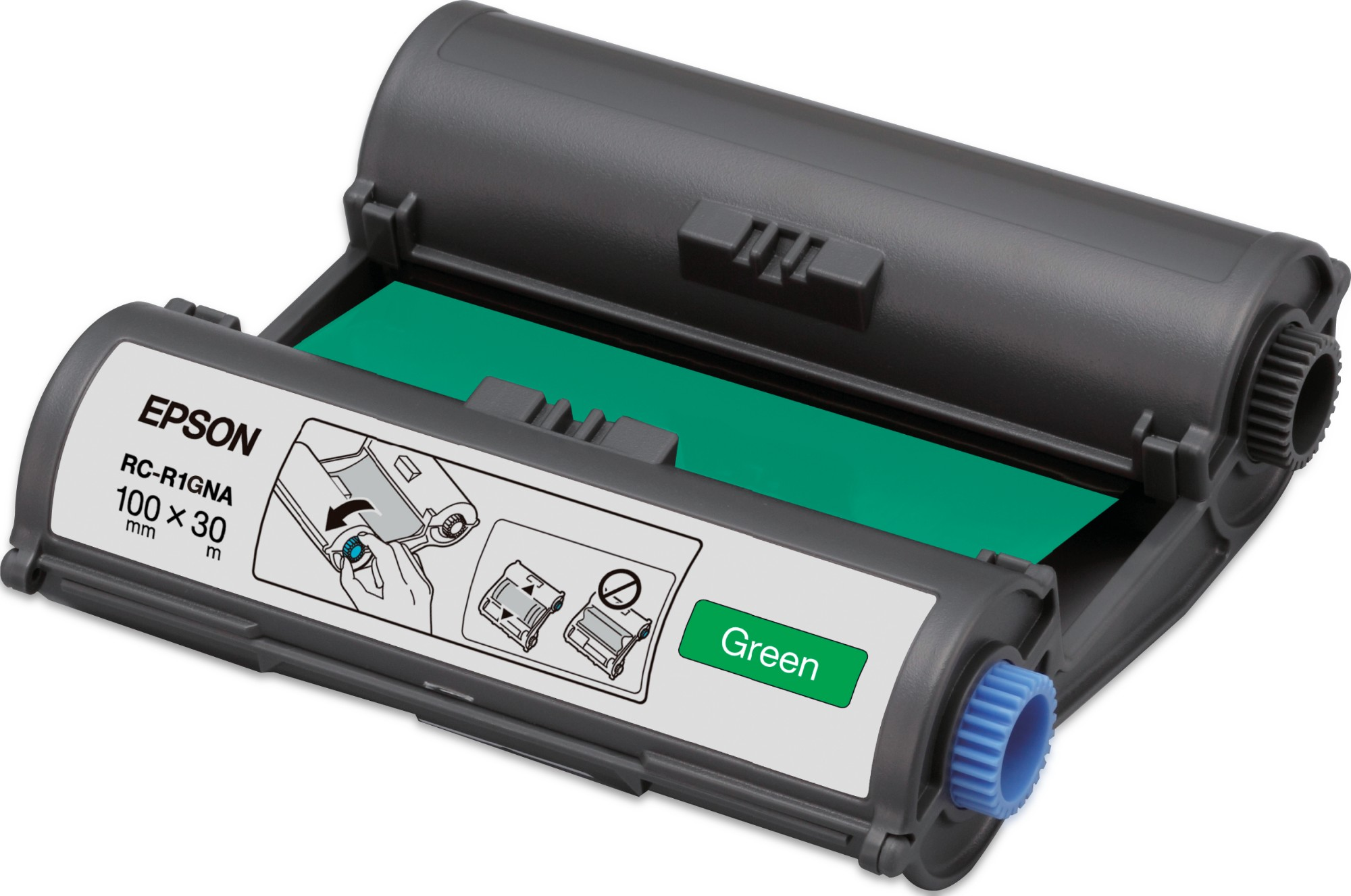 Epson Cinta RC-R1GNA verde 100 mm