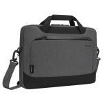 "Targus Cypress EcoSmart notebook case 35.6 cm (14"") Briefcase Grey"