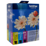 BROTHER LC-39CL3PK INKJET CARTRIDGE COLOUR VALUE PACK 3