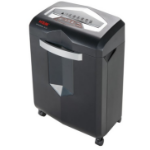 HSM shredstar X13 Cross shredding 58dB Black,Silver paper shredder