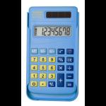 Aurora HC106 calculator Pocket Basic Blue