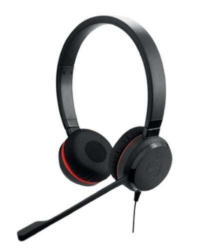 Jabra Evolve 20SE UC Stereo Headset Head-band Black