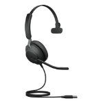 Jabra Evolve2 40, MS Mono Headset Head-band USB Type-A Black