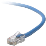 Belkin Cat5e, 6ft, 1 x RJ-45, 1 x RJ-45, Blue