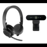 Logitech Pro Personal Video Collaboration video conferencing systeem 1 persoon/personen Gepersonaliseerde videovergaderingssysteem