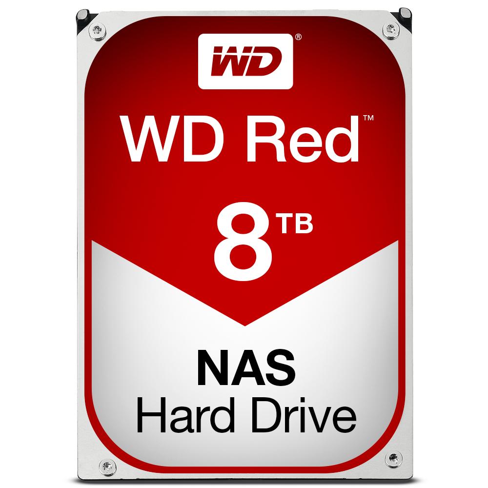 Western Digital Red Hdd 8000gb Serial Ata Iii Interna Hrddiskar 0