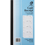 OLYMPIC 616 CASH RECEIPT BOOK 4 TO VIEW CARBON DUPLICATE 75 LEAF 254 X 135MM