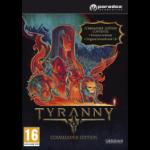 Paradox Interactive Tyranny - Commander Edition PC/Mac Basic Mac/PC DEU Videospiel