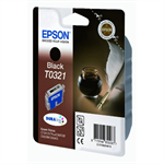 Epson C13T03214010 (T0321) Ink cartridge black, 1.24K pages @ 5% coverage, 33ml