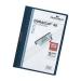 Durable DURACLIP® 30 A4 PVC Blue report cover