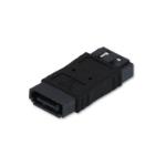 Lindy 33483 cable interface/gender adapter SATA 7 pin Black