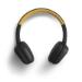 Energy Sistem 429325 auricular y casco Auriculares Diadema Negro, Amarillo
