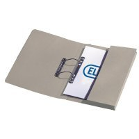 Elba Stratford Transfer Spring File Recycled Pocket 320gsm 36mm Foolscap Buff Ref 100090145 [Pack 25