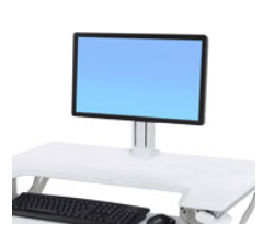 Ergotron 97-935-062 White Holder multimedia cart accessory