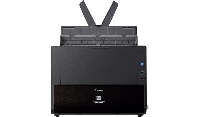 Canon imageFORMULA DR-C225W II 600 x 600 DPI Alimentador automático de documentos (ADF) + escáner de alimentación manual Negro A4
