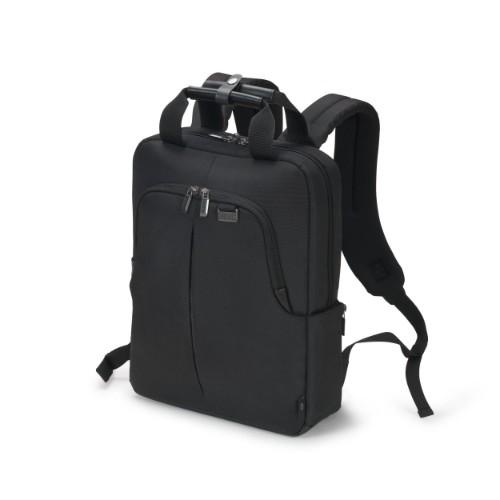 Dicota ECO Slim PRO backpack Casual backpack Black Polyethylene terephthalate (PET)