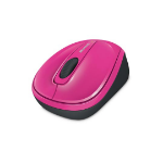 Microsoft Wireless Mobile Mouse 3500 mice RF Wireless BlueTrack Pink