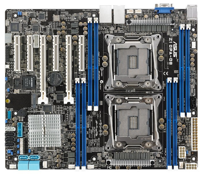 ASUS Z10PA-D8 Intel C612 LGA 2011-v3 ATX server/workstation motherboard