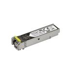 StarTech.com MSA Compliant 100 Mbps Fiber SFP Transceiver Module - 100Base-BX (Downstream) - SM LC - 10 km