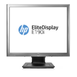 HP EliteDisplay E190i 18.9-in 5:4 LED Backlit IPS Monitor (ENERGY STAR)