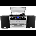 Soundmaster MCD4500 home audio set Home audio midi system Black,Silver 40 W