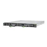 Fujitsu RX1330 M3 server 3 GHz Intel® Xeon® E3 v6 E3-1220V6 Rack (1U) 450 W