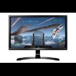 """LG 24UD58 computer monitor 60.5 cm (23.8"""") 4K Ultra HD LED Flat Black"""