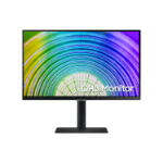 "Samsung S24A600UCU 61 cm (24"") 2560 x 1440 pixels Wide Quad HD LCD Black"