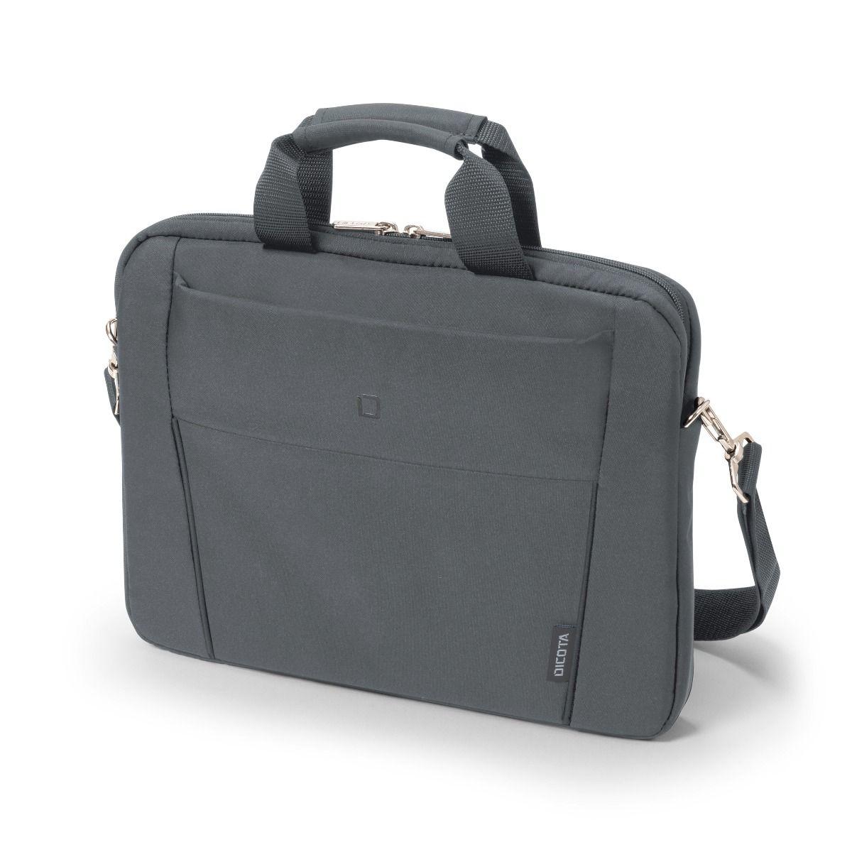 "Dicota Slim Case Base 15-15.6 15.6"" Messenger case Grey"