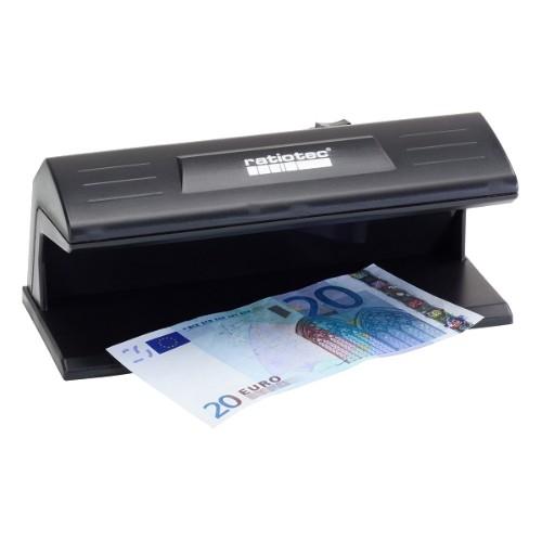 ratiotec Soldi 120 counterfeit bill detector Black