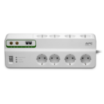 APC Stekkerdoos met overspanningsbeveiliging 8x stopcontact + Coax + Telefoon