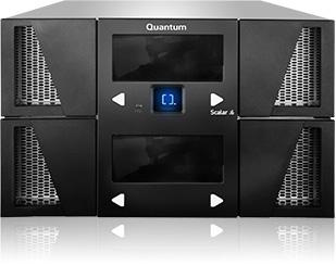 Quantum Scalar i6 6U Black tape auto loader/library