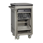 Black Box UCCSS20H portable device management cart/cabinet Gray