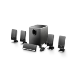 Edifier M1550 5.1channels 26W Black speaker set