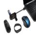 Kensington UH4000 USB 3.0 4-Port Hub — Black