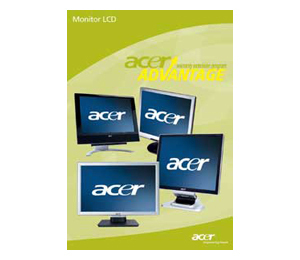 Acer SV.WLDA0.A07, AcerAdvantage 5 years onsite (next business day) for Acer Monitors Exchange (nbd)
