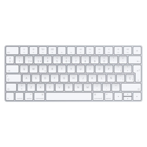 Apple Magic Bluetooth QWERTY Spanish White