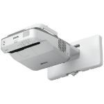 Epson EB-675Wi Wall-mounted projector 3200ANSI lumens 3LCD WXGA (1280x800) Grey,White data projector