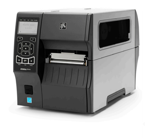 Zebra ZT410 labelprinter Thermo transfer Bedraad en draadloos