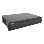 Tripp Lite 32-Port USB Charging Station with Syncing, 230V, 5V 80A (400W) USB Charger Output, 2U Rack-Mount