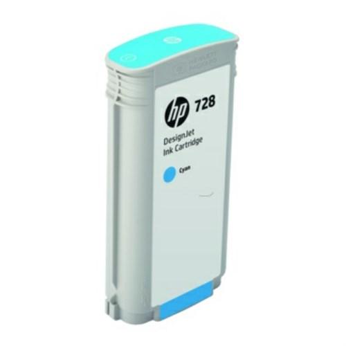 HP F9J67A (728) Ink cartridge cyan, 130ml