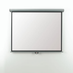 Metroplan Eyeline Electric Wall Screen 4:3 Black,White projection screen