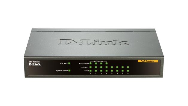 D-Link DES-1008PA network switch