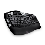 Logitech K350 RF Wireless QWERTY English Black keyboard