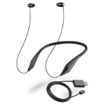 Plantronics BackBeat 105 Black Intraaural Stethoset headphone