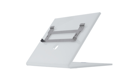 2N Telecommunications INDOOR TOUCH DESK STAND WHITE