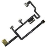 MicroSpareparts Mobile TABX-IP4-INT-1 Volume button flex cable Black