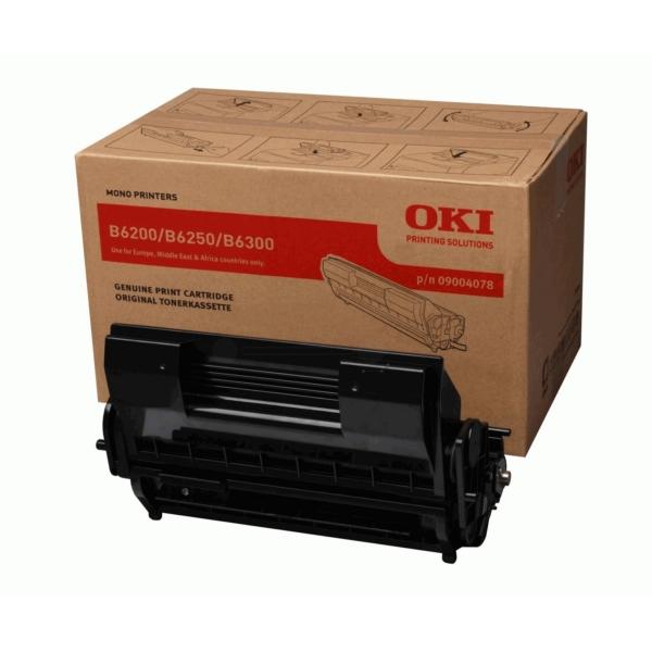 OKI 09004078 Toner black, 10K pages @ 5% coverage